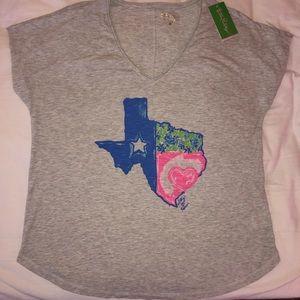 Lily Pulitzer Texas Tee Shirt
